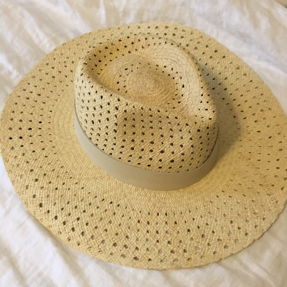 472e83e47cb9b Rag and bone natural Lacey wide brim Panama hat. Listing Price   130.00